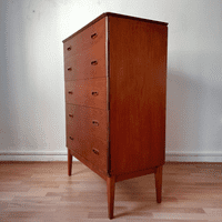 Tall Boy Chest of Drawers by Frank Guille  for Austinsuite